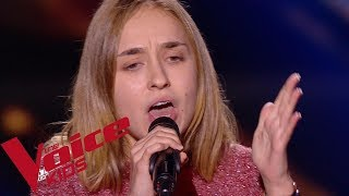 Adele - When we were young | Stella | The Voice Kids France 2018 | Blind Audition