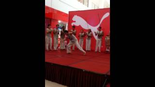 preview picture of video 'Capoeira performance at CityOne Megamall Kuching'