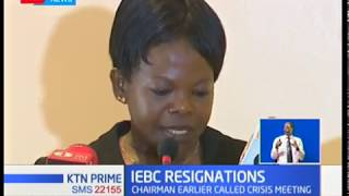 Embattled IEBC has been thrown into a further crisis after three commissioners resigned