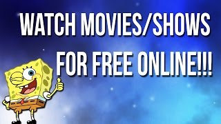 Easiest Way To Watch Movies & Shows For Free!!!( 2017)