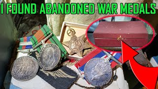 I Found Forgotten War Medals in an Abandoned House