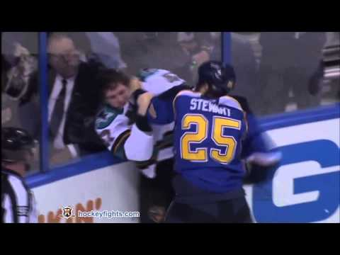 Chris Stewart vs. Tommy Wingels