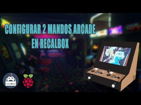 CONFIGURAR 2 MANDOS ARCADE EN RECALBOX (6 BOTONES)