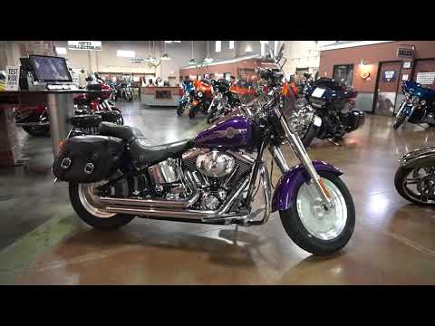 2001 Harley-Davidson FLSTF/FLSTFI Fat Boy® in Mauston, Wisconsin - Video 1