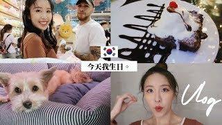 [韓國VLOG] 結婚前的最後一個生日!! 一天做了什麼? 我其實的很想呆在家的說⋯ Lizzy Daily