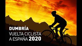 """Novo vídeo de Dumbría, da etapa da """"Vuelta Ciclista a España 2020""""."""
