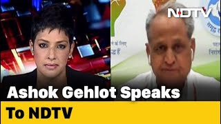 Rajasthan Chief Minister Ashok Gehlot Says BJP Trying To Topple Government