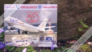 Hire Best and Cheap Air Ambulance Service in Dibrugarh