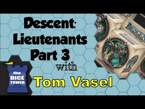 Dice Tower Reviews: Descent Lieutenant Packs (part 3)