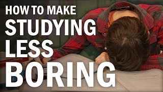 How to Make Studying Fun (or at Least Less Boring)