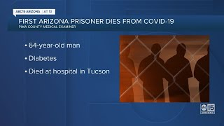 First Arizona prisoner dies from COVID-19