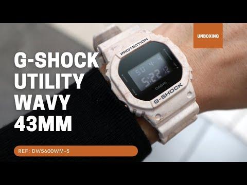 CASIO G-SHOCK DIGITAL WATCH DW5600WM-5