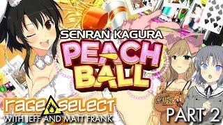 Senran Kagura: Peach Ball - The Dojo (Let's Play) - Part 2