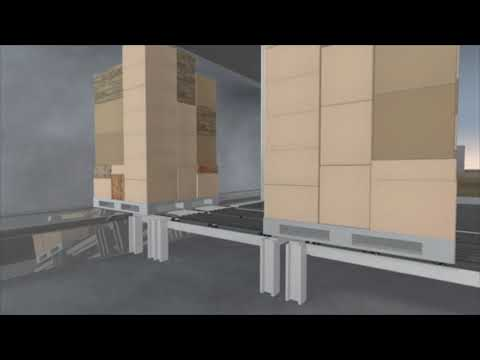 unterirdische Warenversorgung von urbanen Räumen auf der vorletzten Meile