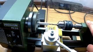 Proxxon Drehmaschine, Schiffswellen Kupplung für den RC Modellbau selbst herstellen,