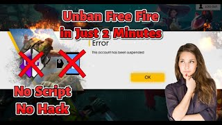 how to get your suspended free fire account back - Free