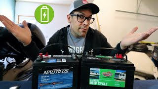 What kind of Batteries do I need for my Boat? Marine batteries explained!