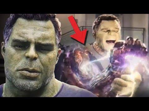 Никто не понял этой сцены с Халком в Мстители 4: Финал