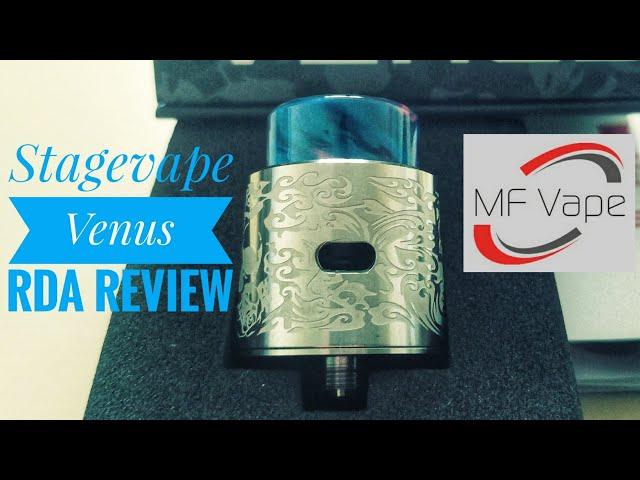 Stagevape Venus RDA - Review, build & wick