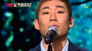 SBS [KPOPSTAR3] - TOP8 결정전, 버나드박의 '하고 싶은 말'