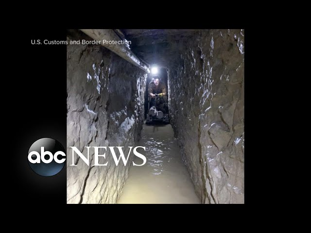 Longest illegal underground tunnel found l ABC News