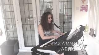 """Hasta Manana """"ABBA"""" vocal cover on Yamaha Genos"""