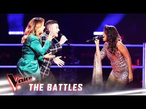 The Battles: Luke & Tannah v Rebecca 'Don't You Worry 'Bout A Thing' | The Voice Australia 2019