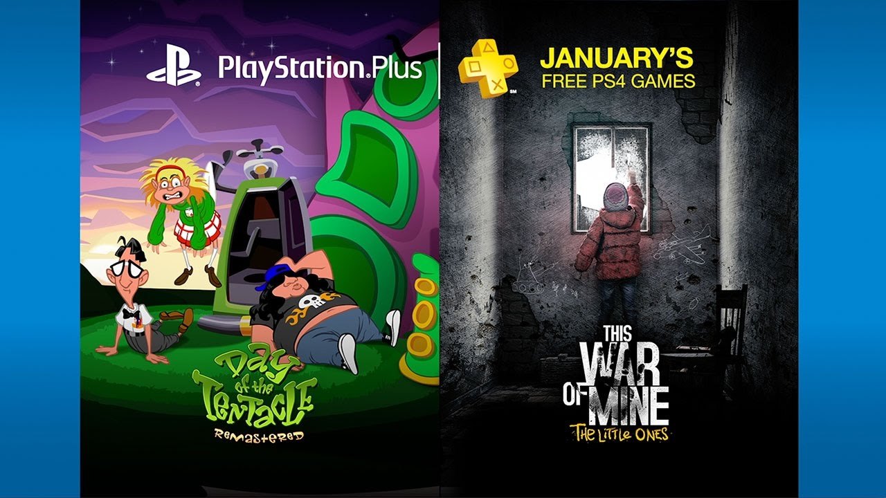 PS Plus: Free Games for January 2017