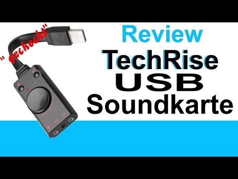 """""""gecheckt"""" TechRise externe USB Soundkarte Review USB Soundkarte  *deutsch*"""