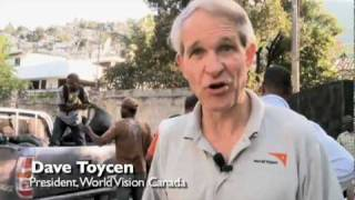 preview picture of video 'World Vision Aid Distribution in Port-au-Prince'
