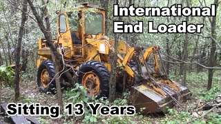 International 3850 End Loader Sitting 13 Years - Can We Save It?