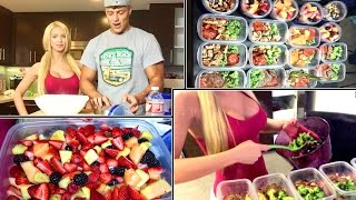 meal prepping amp my new year diet routine  gigi