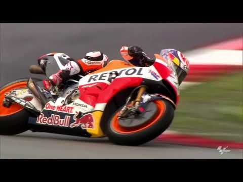 First footage of Márquez and Pedrosa in Malaysia