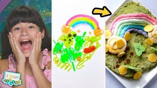 Can These Chefs Turn A Leprechaun Drawing Into A Real Dish? • Tasty