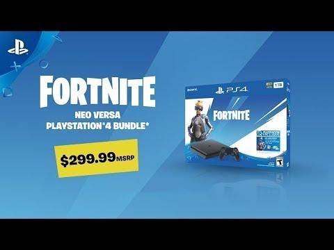 Fortnite - Neo Versa PS4 Bundle