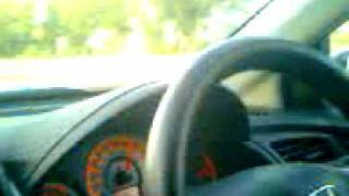 180km/h on honda city i-vtec