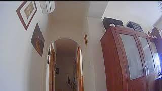 FPV indoor ACRO practicando en casa