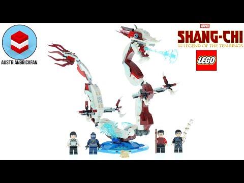 Vidéo LEGO Marvel 76177 : Shang-Chi : Bataille au Village des Anciens