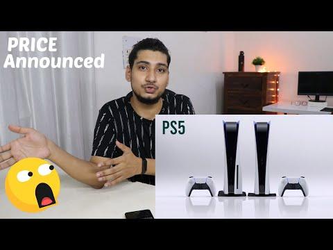 PS5 Price Announced in INDIA 2020/ Amazing price