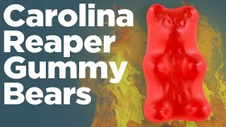 DIY Spicy Gummy Peppers - The Worlds Hottest Gummy Candy Recipe!