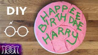 Harry Potter Birthday Cake - DIY