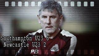 Newcastle U23 get smashed for six at Southampton