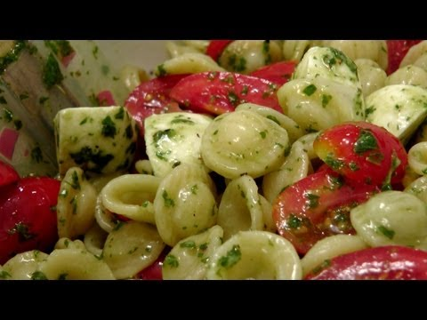 Caprese Pasta Salad – Recipe by Laura Vitale – Laura in the Kitchen Episode 160
