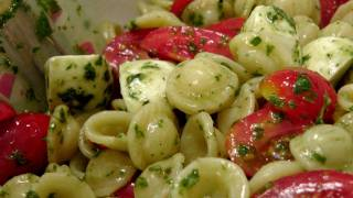 Caprese Pasta Salad - Recipe by Laura Vitale - Laura in the Kitchen Episode 160