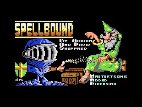 Spellbound (complete walkthrough, 8bit Atari)