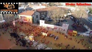 IMMAGINI PAZZESCHE - Battaglia delle Arance Vista dal Drone  Carnevale Ivrea