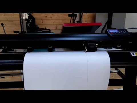Simulare proiect 10m liniari, Cutter-plotter Goldcut servo