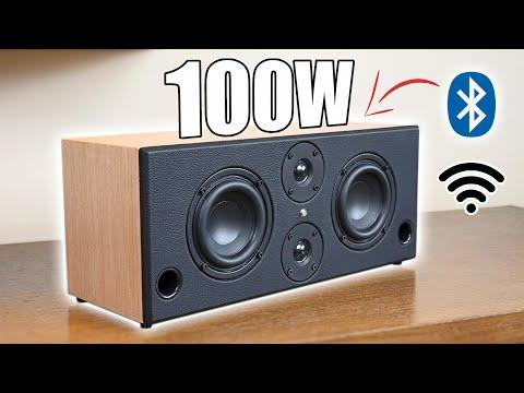 DIY WiFi / Bluetooth Stereo Speaker Boombox Build