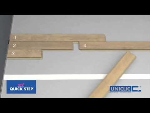 Quick-Step UNICLIC Installation from Premium Floors