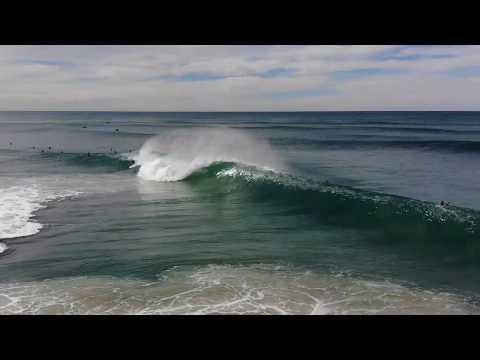South Stradbroke pumping waves fun surf